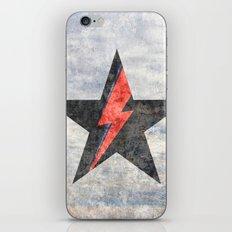 BlackStarMan (waiting in the sky) iPhone & iPod Skin