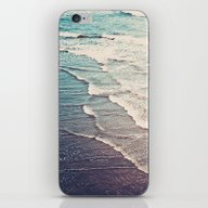 Ocean Waves Retro iPhone & iPod Skin