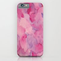 iPhone & iPod Case featuring Beth Rose Watercolor by Em Beck