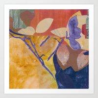 Autumn Dance IV Art Print