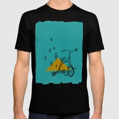 confidant I. (tricycle) Black SMALL Mens Fitted Tee
