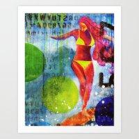 Soul Surfer I Art Print