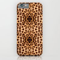 Leopard Print Kaleidoscope Abstract iPhone 6 Slim Case