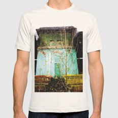 Nature finds the way inside... and outside... Mens Fitted Tee Natural SMALL