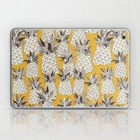 Pineapple Sunshine Yello… Laptop & iPad Skin