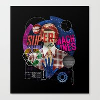 Super Machines Canvas Print