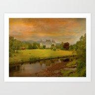 The Romantic Castle Art Print