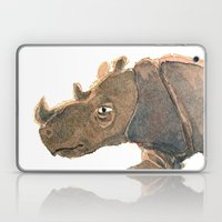 Thinking Rhinoceros Laptop & iPad Skin