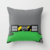 Teenage Mutant Ninja Pixels Throw Pillow