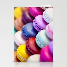 Rainbow Macarons Stationery Cards