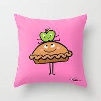Apple Pie Throw Pillow
