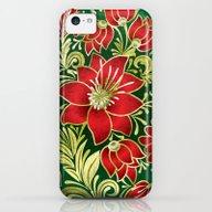 Shabby Flowers #4 iPhone 5c Slim Case