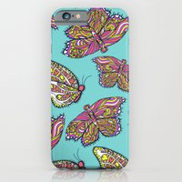 heart and butterflies iPhone 6 Slim Case
