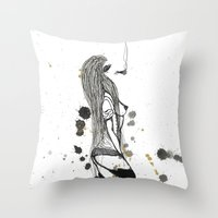 Lighten Up Throw Pillow