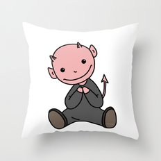 Le Petit Diable Throw Pillow