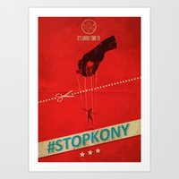 #KONY2012 And #StopKony Campaign Art Print