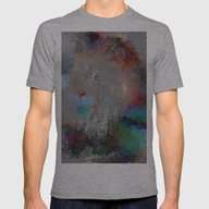 Pastel Predator Mens Fitted Tee Athletic Grey SMALL