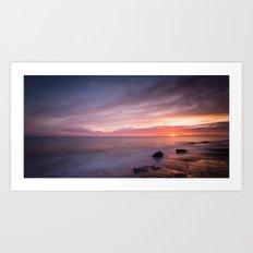 Norfolk Sunrise Art Print
