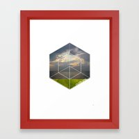 Nature elements 3 Framed Art Print