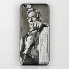 Honest Abe iPhone & iPod Skin