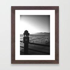 Viewfinder Framed Art Print