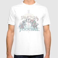 Fantasy Football Mens Fitted Tee White SMALL