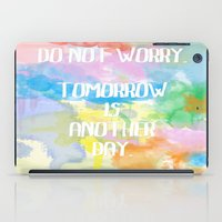 DO NOT WORRY iPad Case