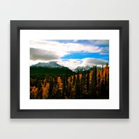 Alaska Autumn Adventures   Framed Art Print