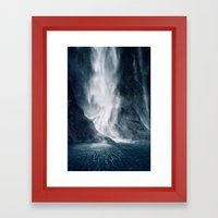 Bowen Falls 1 Framed Art Print