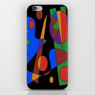 Abstract #105 iPhone & iPod Skin