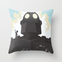 I Am Not A Gun Throw Pillow
