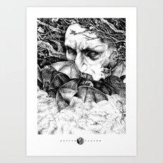 Batsorcerer Art Print