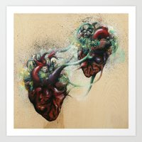 Arrested Vascular Fusion… Art Print