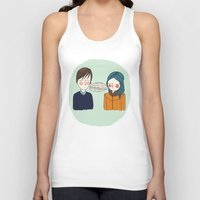 I Can't See Anything I D… Unisex Tank Top