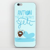 Anton, the Valentine´s Yeti iPhone & iPod Skin