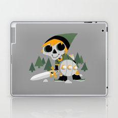 Skull Sword Guy Laptop & iPad Skin