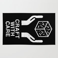 Craft With Care (Black) Rug