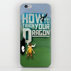 HOW TO TRAIN YOUR DRAGON - Fantasy | Animation | Movie | Fantastic | Childer | Sci-fi iPhone & iPod Skin