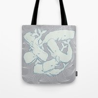 Silent Swim Tote Bag