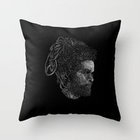 Max Roméo Throw Pillow