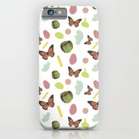 iPhone & iPod Case featuring butterflies and plaid by cardboardcities