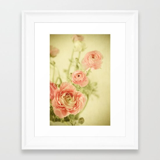 Sweet Spring Framed Art Print