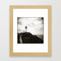 { light house } Framed Art Print