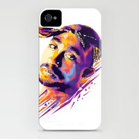 iPhone 4s & iPhone 4 Cases featuring 2pac: Dead Rappers Serie by Largetosti