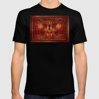 Drawers Of Wrath Mens Fitted Tee Black SMALL