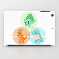 Poké: choose your starter iPad Case