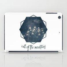 call of the mountains iPad Case