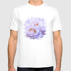 White Dream SMALL Mens Fitted Tee White