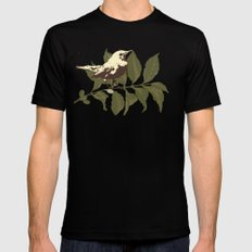 the Mokingbird Mens Fitted Tee Black SMALL