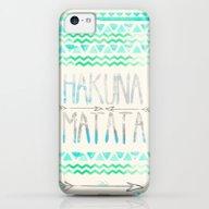 Hakuna Matata iPhone 5c Slim Case